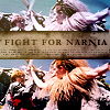 sashajwolf: photos of Ice Queen fighting Peter (fight for narnia)