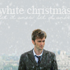 "sashajwolf: photo of Ten with text ""white christmas"" (white christmas)"