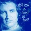 "sashajwolf: photo of Vila with text ""do I look as tired as I feel?"" (tired)"