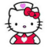 reika: avatar of hello kitty in a nurse's outfit (hello kitty nurse)