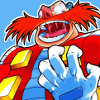 lovepeaceohana: Eggman doing the evil laugh, complete with evilly shining glasses. (Default)