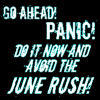 "silverflight8: text icon: ""Go ahead! Panic! Do it now and avoid the June rush!"" (Panic!)"
