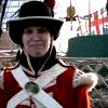 sharpiefan: Photo of me in historic uniform (Re-enactor Marine)