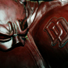 theresistance: Close up of the mask and chest piece of Daredevil's costume (DD)