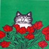 spikesgirl58: (cat in tulips)