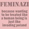 gaudior: (feminazi)