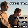 carmarthen: Marcus and Esca: Stand tall, we are in an epic poem here (boyslash, the eagle epic)