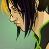 "espio: Art by <user name=""thebutt""> ([human] sadface)"