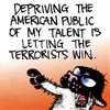 melchar: bucky katt making a statement (bucky)