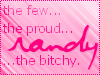 athra: ([Randy] few proud bitchy)