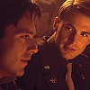 sholio: Steve and Bucky in soft lighting (Avengers-Steve Bucky past)