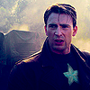 sholio: Captain America in the rain (Avengers-Steve rain)