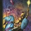 ilakubala: The Knight of Swords from the Gilded Tarot (Knight of Swords)