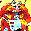 lovepeaceohana: Eggman looking very tattered and injured. Poor Eggy! (eggy wounded)
