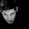 kate: Dean from Supernatural, looking up at the camera, CREEPILY (SPN: Dean creepy)