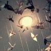 celestion: (flock of cranes circled overhead)