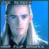 auros: (Hair Flip Brigade)