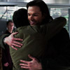 kate: Sam and Cas hugging (SPN: Sam/Cas happy hug)