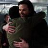 kate: Sam and Cas hugging (SPN: Sam/Cas happy hug)