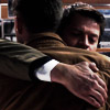 kate: Dean and cas hugging (SPN: Dean/Cas hug)