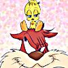 fierybluebird: (damn Shanks, I thawt I saw a puddytat, tweety bird)