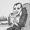 ironsky: ((art). television vampire)
