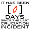 jenett: It has been 0 days since the last cruciation incident (it has been 0 days)