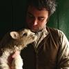 farmfic: Peter Ginn with a lamb (ginn, lamb, peter)