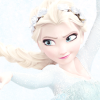 ain1derland: Elsa with a flower crown (Elsa, Flower Crown, Frozen)
