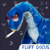 manadocus: fluffydiplodocus with shades yeah (FLUFF DOCUS)