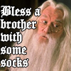 janetmiles: (entitlement, dumbledore, socks, silliness)