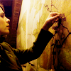 "phoenixchilde: Peggy Carter from ""Captain America"" examining a map (mcu: stay the course)"