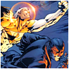 grimcognito: Apollo/Midnighter ready to fight (apollo/Midny fly)