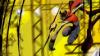 madimpossibledreamer: Jiraiya|Yosuke jumping and using a throwing star (Default)