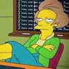 tamaraaeknight: Colour image of Mrs Krabappel reclining with her feet on the desk (Default)