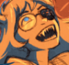 raininshadows: Vriska Serket laughing maniacally. (maniacal vriska)