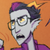 raininshadows: Eridan Ampora looking exasperated. (exasperated eridan)