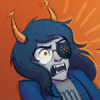 raininshadows: Vriska Serket looking horrified. (horrified vriska)