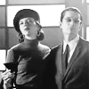 turlough: b/w photo of Drusilla & Spike in the 1950s ((buffy) sophistication)