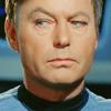 cynaravurzyn: Bones McCoy gimlet eyed (Cocked eyebrow)