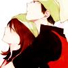roserade: brendan & may, pokemon (☄ big teeth small kiss)