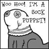 lamia_prime: (Sock Puppet Snooch)