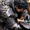 lynndyre: Porthos holding Athos (hug!)