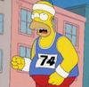 mellymell: (homer running)
