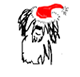 intertext: (xmas beardie)