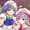 scarlet_devil: (With Sakuya)