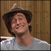 hagiologic: joseph gordon-levitt as jason mraz with a silly grin (Default)