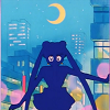 alexseanchai: Sailormoon in silhouette (Sailormoon in silhouette)