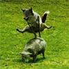 xterm: (Wolf Jump)