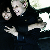 sinensis: laura and kara hugging, from bsg. (laura and kara)